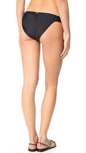 PilyQ 蕾丝扇形比基尼泳裤