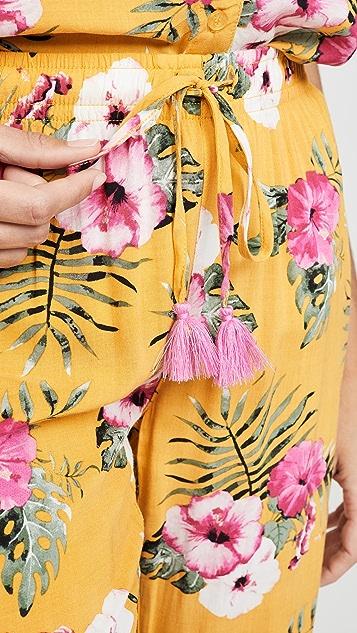 PJ Salvage Tahitian Tropics 居家长裤