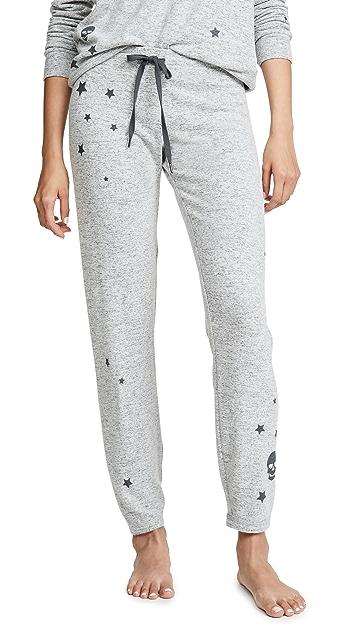 PJ Salvage 星星和骷髅头睡裤
