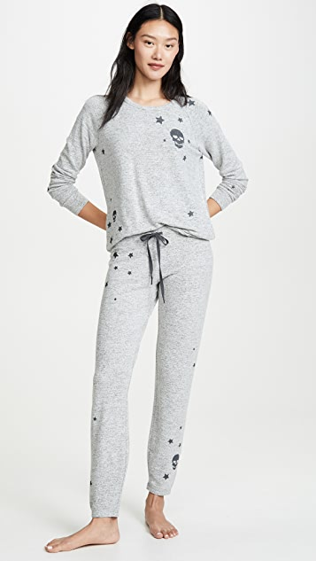 PJ Salvage 星星和骷髅头睡衣