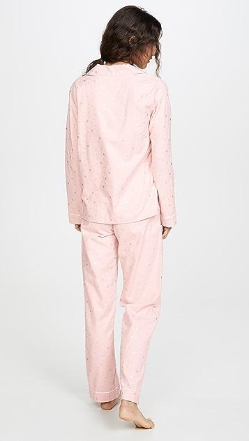 PJ Salvage 切尔西版型法兰绒睡衣套装