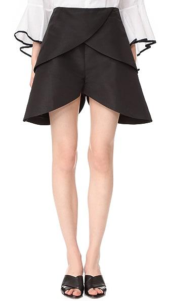 PAPER London 花瓣短裤
