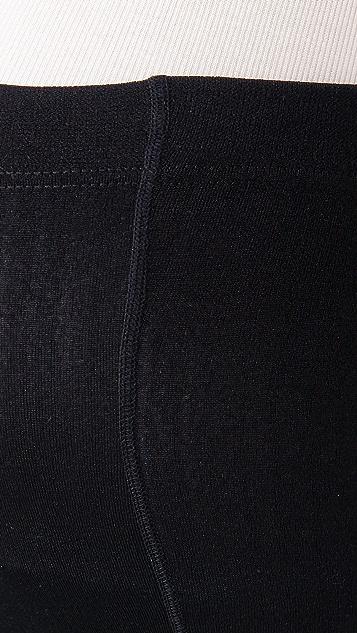 Plush 孕妇装抓绒衬里连裤袜