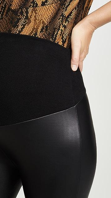 Plush Liquid 双层紧身裤