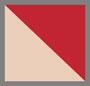 罂粟红/自然白