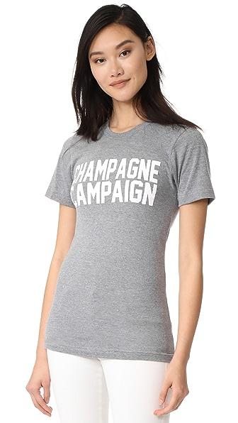Private Party Champagne Campaign T 恤