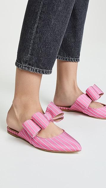 Polly Plume Kiki 蝴蝶结穆勒鞋