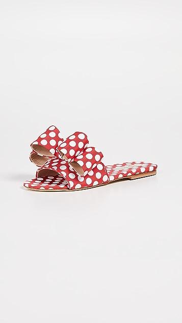 Polly Plume Lola 蝴蝶结便鞋