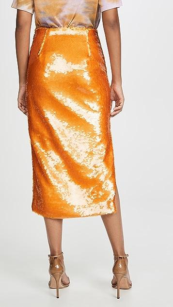 Prabal Gurung 亮片铅笔裙