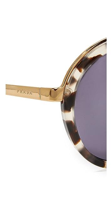 Prada 普拉达 圆形太阳镜