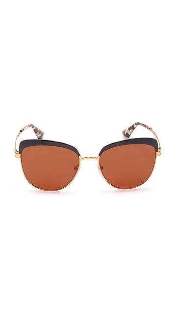 Prada Brow 猫眼太阳镜