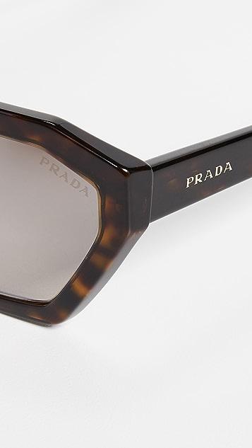 Prada PR 03VS Millennial 几何太阳镜