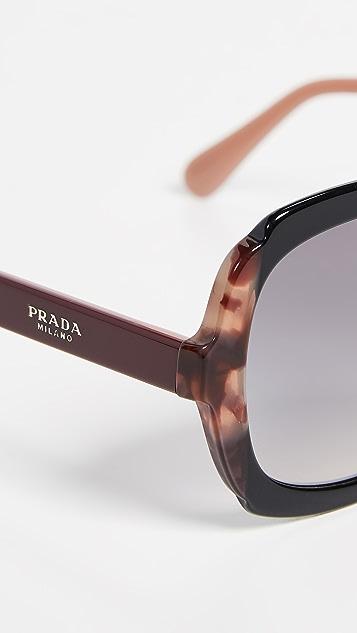 Prada PR 16US 方框太阳镜