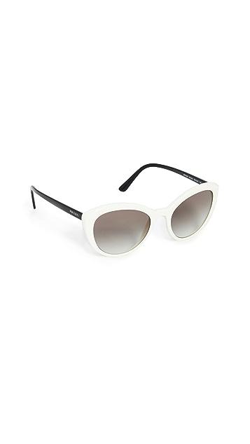 Prada 经典猫眼太阳镜