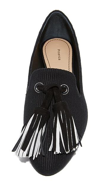 Proenza Schouler 流苏设计吸烟便鞋