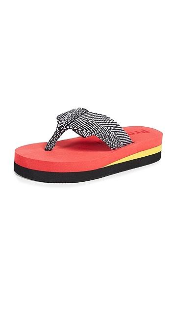 Proenza Schouler V 形夹趾凉鞋