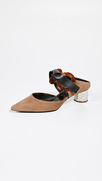 Proenza Schouler 绑带穆勒鞋