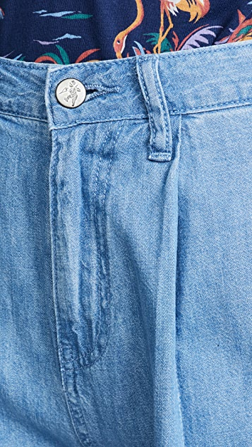 PRPS 微褶卡其裤