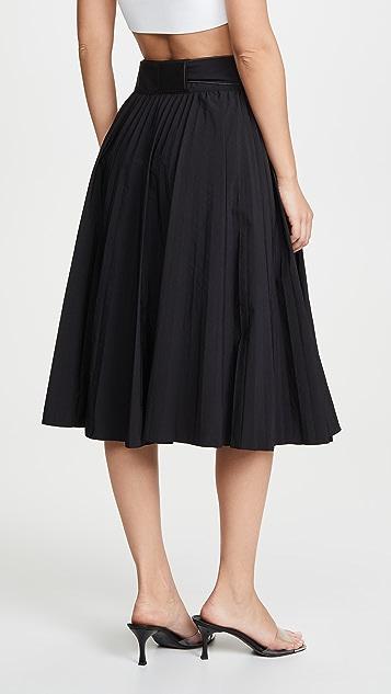 Proenza Schouler PSWL 裥褶降落伞式半身裙