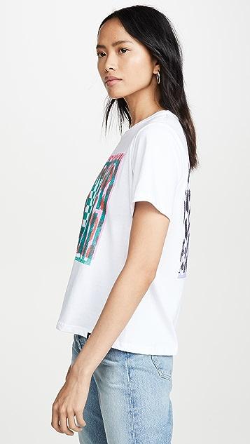 Proenza Schouler PSWL Baby 印花 T 恤