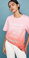 Proenza Schouler White Label 短袖扎染 T 恤