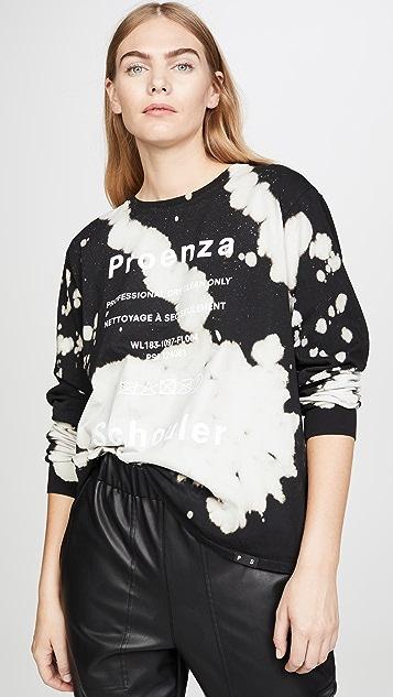 Proenza Schouler White Label 扎染长袖 T 恤