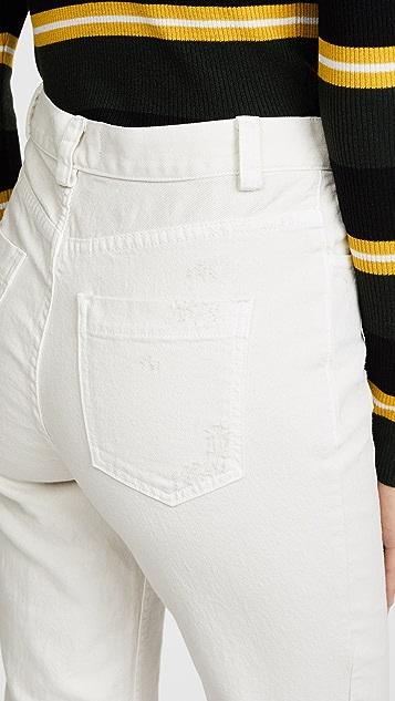Rachel Comey 修身军旅风牛仔裤
