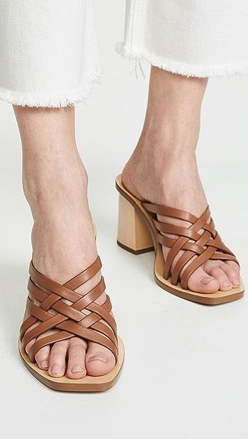 Rachel Zoe Kate 露趾穆勒鞋