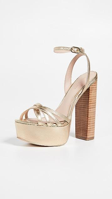 Rachel Zoe Charlotte 厚底凉鞋