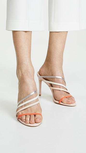Rachel Zoe Hailey 不对称凉鞋