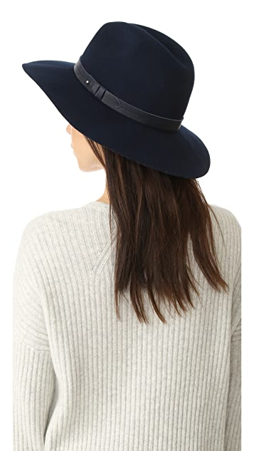 Rag & Bone 宽帽沿费朵拉帽