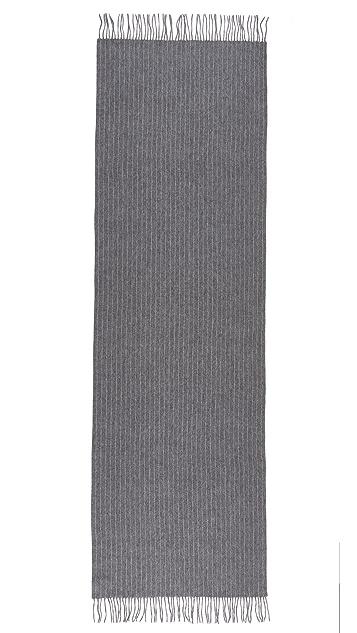 Rag & Bone 拉绒细条纹围巾