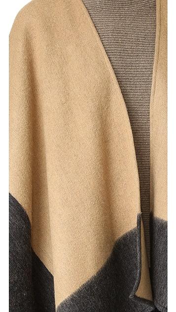 Rag & Bone 双面裹身式围巾
