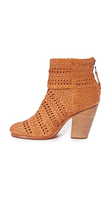 Rag & Bone Newbury 梭织短靴