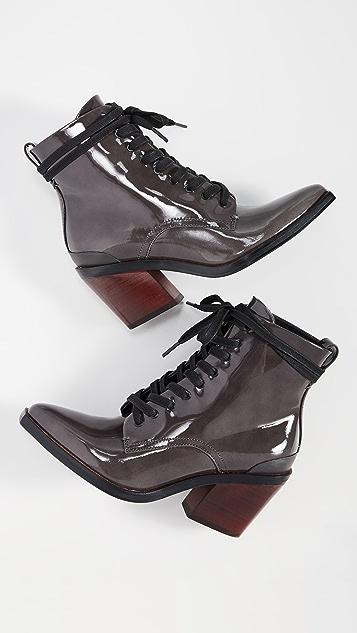 Rag & Bone Ryder 系带靴