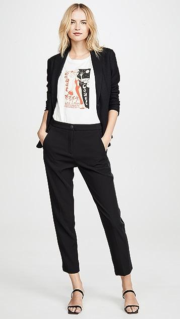 Rag & Bone Meki 侧边条纹长裤