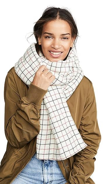 Rag & Bone Tattersal Down 围巾