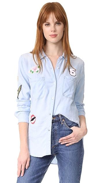 RAILS Carter 贴片系扣衬衣