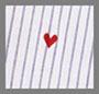 Girona 心形条纹