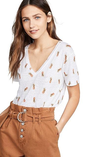 RAILS Cara 菠萝 T 恤