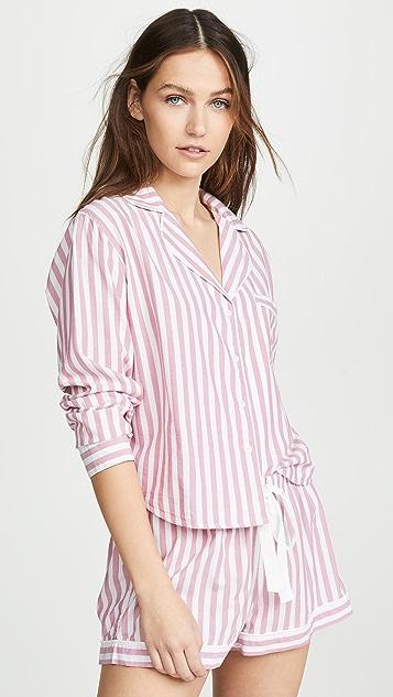 RAILS 长袖短睡衣套装