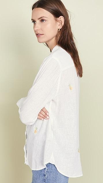 RAILS Charli 刺绣系扣衬衫