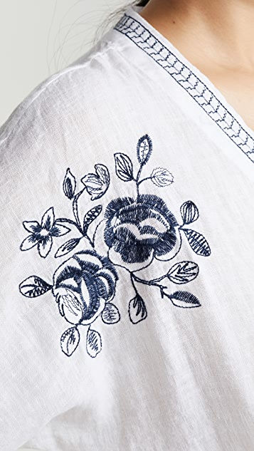 RAILS Thea 刺绣衬衣