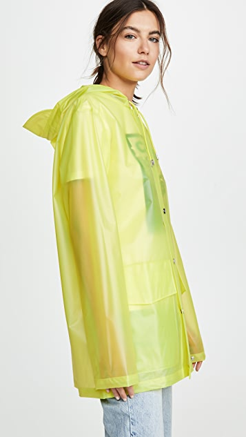 Rains Ltd 短款连帽大衣