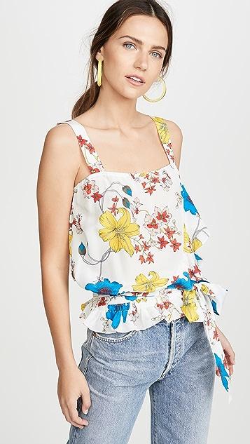 Ramy Brook Harlow 印花女式衬衫