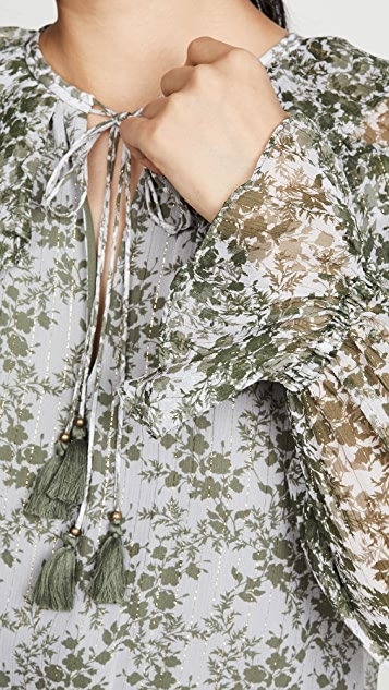 Ramy Brook 印花星系风格女式衬衫