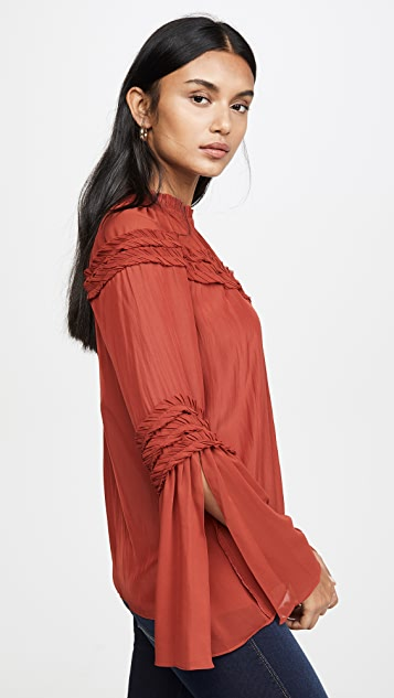 Ramy Brook Emmeline 女式衬衫