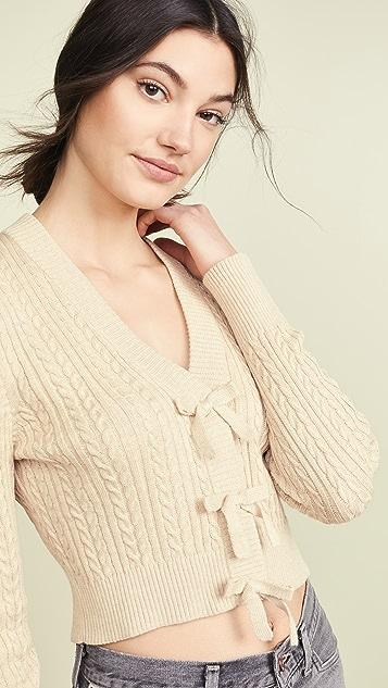 Rachel Antonoff Sosia 短款开襟衫