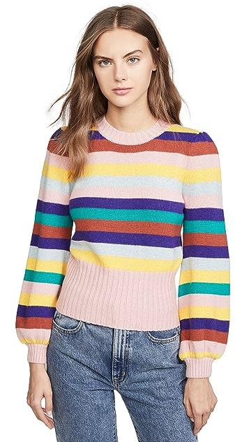 Rachel Antonoff Bridget 泡泡袖毛衣