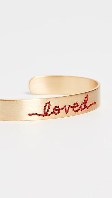 Roxanne Assoulin Loved Stitched 手镯